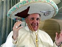 L'intervista al Papa durante il viaggio di ritorno dal Messico Foto